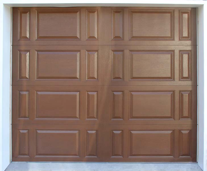 Wood Look Fiberglass Garage Doors
