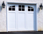 Vinyl Carriage House Garage Doors bring classic design to contemporary living.