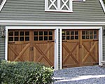 Our custom garage doors will complement your architecture perfectly