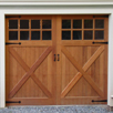 Custom garage doors, carriage house garage doors and wooden garage doors